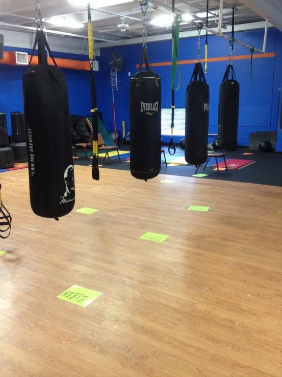 MIracles Fitness FIghtFit class is a co-ed class that includes boxing and kick boxing.