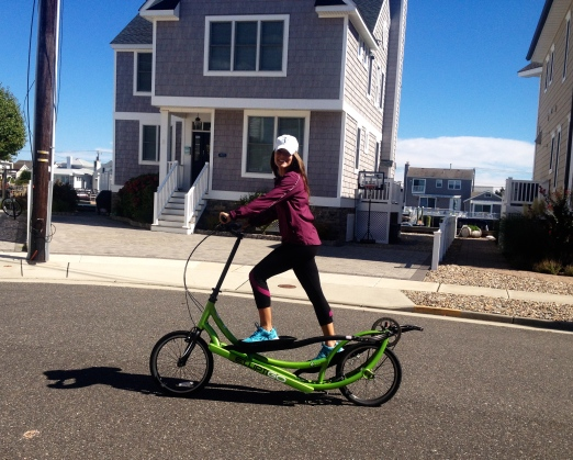 ElliptiGO a nice change from the everyday elliptical! Photo Credit: Alison Mastrangelo