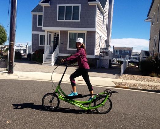 ElliptiGO a nice change from the everyday elliptical! Photo Credit: Alison Mastrangelo